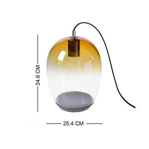 European Casamotion Modern Amber Table Lamp