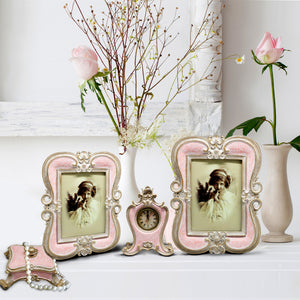 Pastel Pink Photo Frame Set