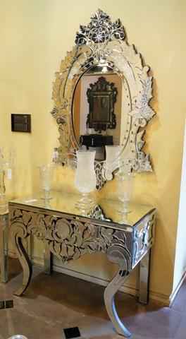 CONSOLE WITH MIRROR VD-MF-297/651