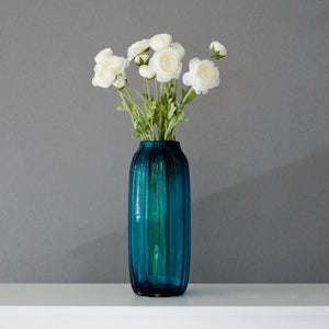 Blue Glass Vase (Hot Sell for Decoration)