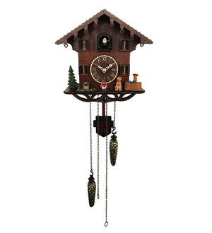 Simple Cuckoo Clock with Dog Animated Figure