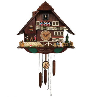 Romantic Animated Couples Cuckoo Clock - KW2625MD