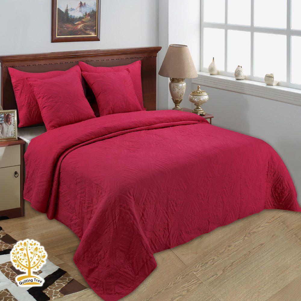 p plaid rustic asher cumberland oak bedding quilt warm red by multi