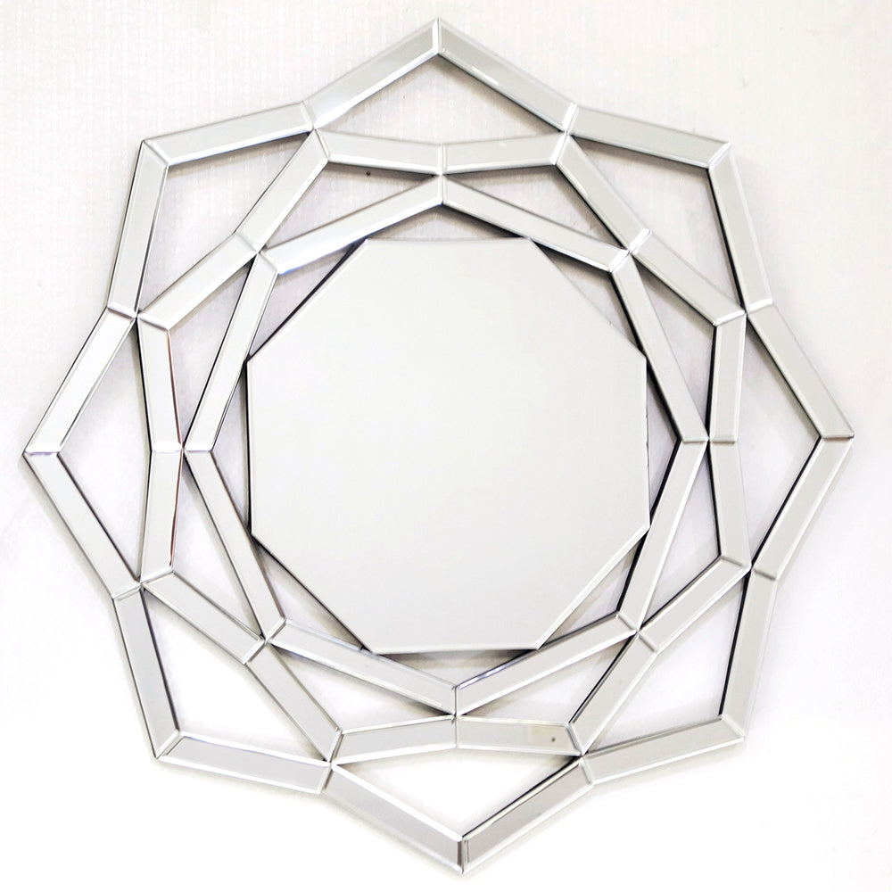 contemporary geometric design wall mirror for home decoration all