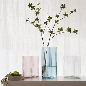 Transparent Handblown Glass Vase (New Product for Flower)