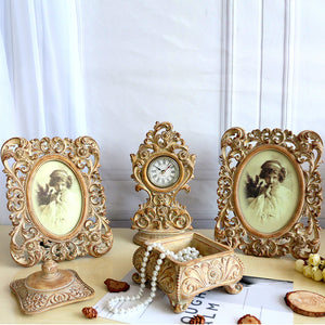 Rustic Yellow Photo Frame Set