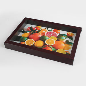 Small Brown Frame Serving Tray