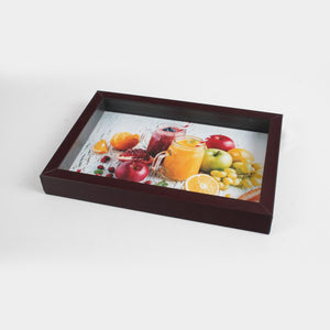 Small Brown Serving Tray