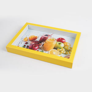 Small Yellow Frame Serving Tray