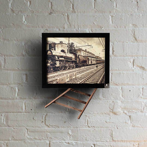 Don't Pull the Chain (Railway Wall Art) | Collection Raasta