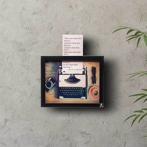 Punch The Keys (Typewriter Wall Art) | Collection Yaad