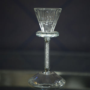 Contemporary Crystal Candle Holder