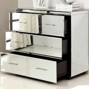 Mirrored Chest, Dressing Table