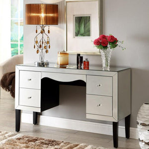 Mirrored Dressing Table, 4 Drawer