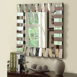 Square Flip Flop Wall Mirror