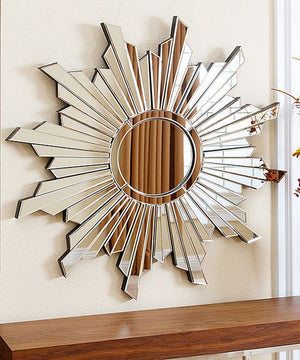 STAR SHAPE WALL MIRROR