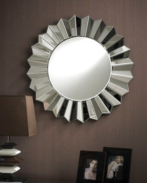 HARNISH MODERN ROUND WALL MIRROR