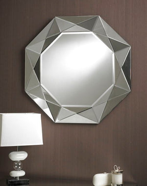 DARKLY MODERN ROUND WALL MIRROR