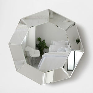 OCTAGONAL TRAY SHAPE WALL MIRROR