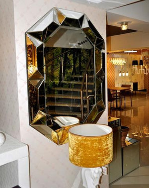 ABNEY ART DECO WALL MIRROR