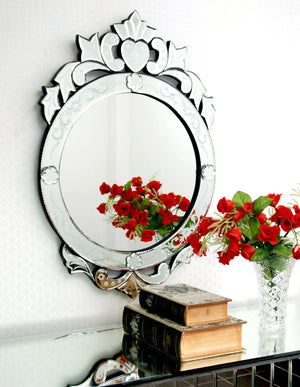 EXCLUSIVE CROWN VENETIAN WALL MIRROR