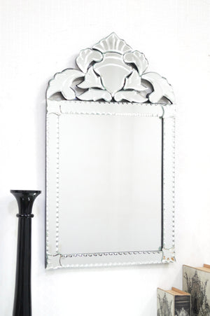 CROWN VENETIAN WALL MIRROR
