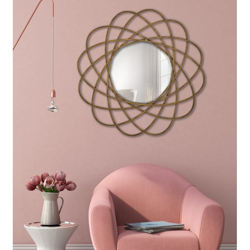 Elegantly Styled Contemporary Maxim Mirror For Home Wall Decor - All ...
