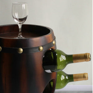 Chestnut Wine Rack