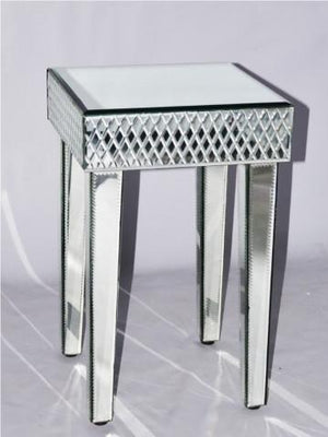 MIRRORED SIDE TABLE VDMF165