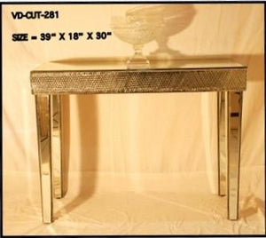 MIRRORED SLIM CONSOLE VDMF-CUT-281 A