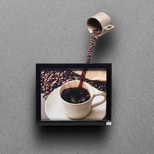 3D Coffee Wall Art