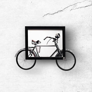 Two Wheel Story (Cycle Wall Art) | Collection Yaad