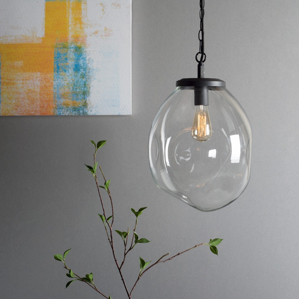 Glass Hanging Lamps Brown Hanging Ceiling Lamp For Home Decor