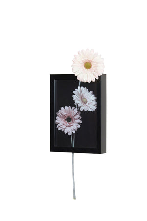 Gerbera Pink (Vertical) Wall Art | Collection Roha