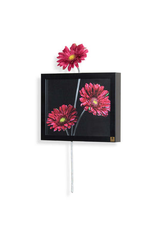 Gerbera Red (Horizontal) Wall Art | Collection Roha