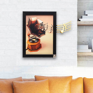 Notes (Gramophone Music Wall Art) | Collection Taste