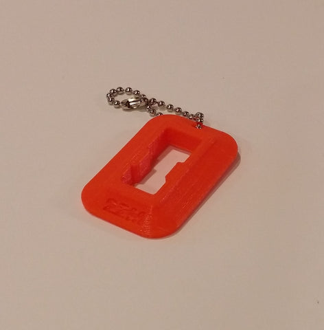 "22LR Magazine Loader for Sig Sauer Mosquito ""Dog Tag"" (Bright Orange)"