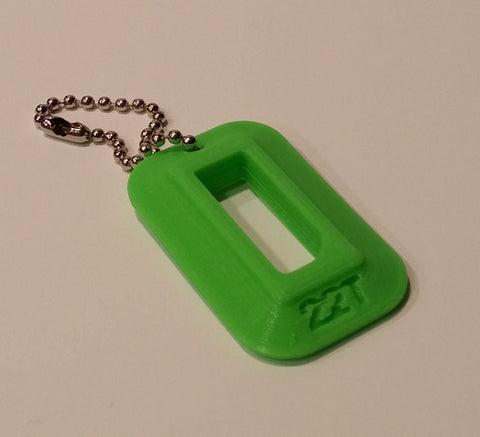 "22LR Target Pistol Magazine Loader ""Dog Tag"" (Zombie Green)"