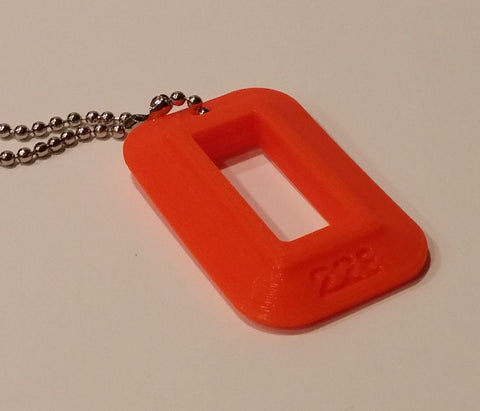 "22LR Compact Pistol Magazine Loader ""Dog Tag"" (Bright Orange)"