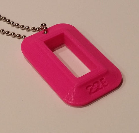 "22LR Compact Pistol Magazine Loader ""Dog Tag"" (Hot Pink)"