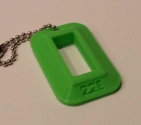 "22LR Compact Pistol Magazine Loader ""Dog Tag"" (Zombie Green)"
