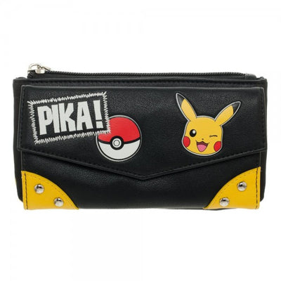 Pokemon Pika! Front Flap Jrs. Wallet