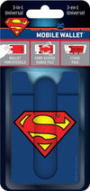 Superman Classic Logo 3-in-1 Universal Mobile Phone Wallet