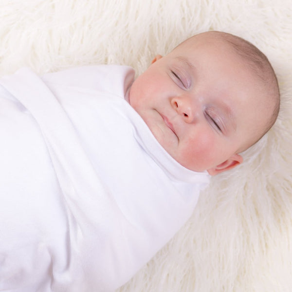 3 PACK Multiway Swaddles - WHITE W GREY