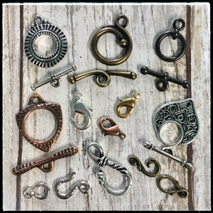 Metal Clasps - All Finishes