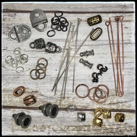 Metal Findings - Jumprings, Head & Eye Pins, Crimps - All Finishes