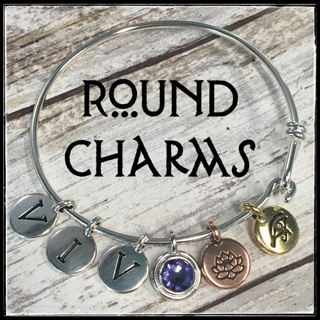 Round Charms - All Finishes
