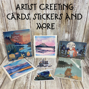 Greeting Cards, Stickers & Journals