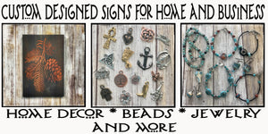 Signs Beads Charms Jewelry
