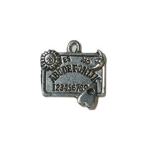 Ouija Board Charms - Qty of 5 Charms - Lead Free Pewter Silver - American Made